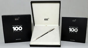 MONTBLANC STARWALKER SOULMAKERS FOR 100 YEARS BLACK LIMITED FOUNTAIN PEN 38301