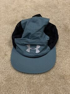 Unisex Blue-Green Under Armour Adjustable HeatGear Running Hat NWT