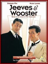 Jeeves And Wooster Complete Series 1-4 DVD Original UK Rele Brand New Sealed R2