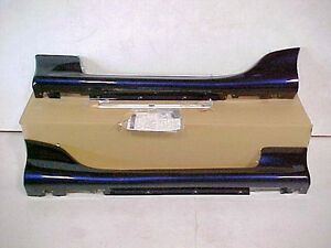 99 - 05 Mazda Miata Lg side sills skirts strato blue OEM NEW PT# NO67 V4 910G 38