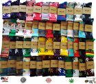 HUF Marijuana Cannabis 420 Crew Socks Mens Womens Weed Pot Leaf Sock 62 colors