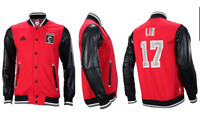 Men's Adidas 'Jeremy Lin Primeball' Track Jacket (A97385)