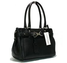 Cristiano Pompeo luxury Women's business handbags bag soft togo leather black