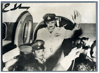 Egypte, Chef de l'Aviation Jordanienne se refugie au Caire  Vintage silver