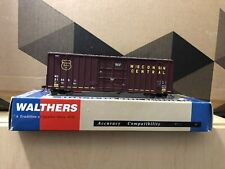 HO Walthers 932-7104 Wisconsin Central Gunderson 50' Hi-Cube Paper Box Car