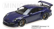 Minichamps 155066221 - PORSCHE 911 GT3 RS (991) – 2015 – Ultravioleta L. E. 1002