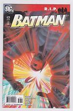 DC Comics Batman #678 + #679 R.I.P. Storyline 1st Printings Grant Morrison 2008