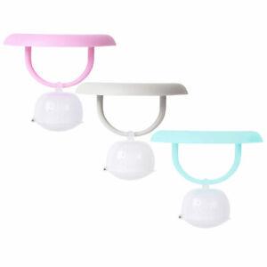 "Plastic Cup Cover Lid w/ Tea Infuser Strainer Filter for Loose Leaf Grain Tea 4"""