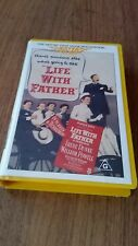 LIFE WITH FATHER - IRENE DUNNE & WILLIAM POWELL - 1947 VHS VIDEO