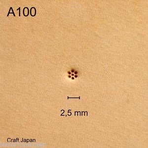 Punziereisen, Lederstempel, Punzierstempel, Leather Stamp, A100 - Craft Japan