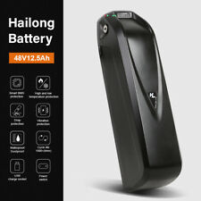 48V12.5Ah HaiLong Ebike Battery Lithium-Ion Battery with USB Port for 1000W USA
