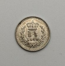 More details for 1843 three-halfpence queen victoria  for colonial use
