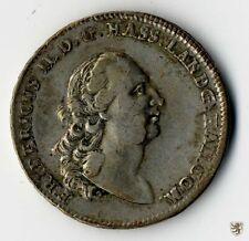 HESSEN-KASSEL, Friedrich II., Sterntaler, 1778, Erhaltung sehr schön
