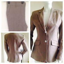 Women's No Pattern Linen Trouser Suits & Tailoring