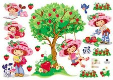Strawberry Shortcake Childrens Wall Stickers Decals Removeable Kids Room TC 6036