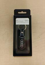 Audi ZAW087610 Carbon Fiber Key Chain Ring