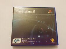 Network Acces Disc PlayStation 2 (Ps2) pal España con manual Perfecto Estado