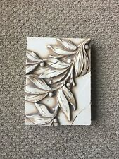 "Lovely SID DICKENS T 57 Leaves  8"" X 6"" Memory Block Tile"