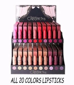 Beauty Creations MATTE Lipsticks- All 20 Colors! Brand New colors, USA SELLER!