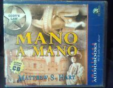 "Used Audio Book ""Mano a Mano"" (Cody's Law #5) by Matthew Hart (3 CD's Abridged)"
