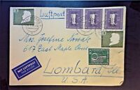Germany 1956 Airmail Cover w/ Some Better (III) - Z1299
