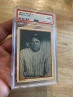 Babe Ruth PSA 9 Circle K #2 Great Bambino 1985 VINTAGE INVEST New York Yankees