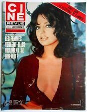 ►CINE REVUE 22/1973-IRA FURSTENBERG-BELMONDO-STEVE McQUEEN-JEAN HARLOW-LANCASTER