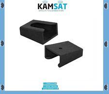 CB RADIO MICROPHONE HANDLE HOLDER PLASTIC CLIP BLACK ALAN TTI PRESIDENT KAMSAT