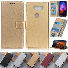 Litchi Wallet Leather Flip Cover Case For LG Q60 Q70 K50S K40S G8 G7 K50 Stylo 5