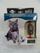 "PetSafe Cat Or Small Dog Micro ID Tag USB Rescue Collar - up to 12"" necks"