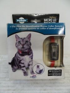 """PetSafe Cat Or Small Dog Micro ID Tag USB Rescue Collar - up to 12"""" necks"""