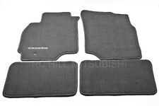 2003-2004 GENUINE MITSUBISHI LANCER CARPET FLOOR MATS BLACK ALN02XFB01 MZ312876