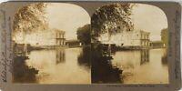 Francia Parigi Château Da Fontainebleau, Foto Stereo Vintage Analogica PL60L10