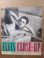 Vintage Poster ELVIS Close-UP Presley advertisement Inv#G3620
