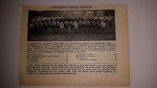 Anniston High School Alabama 1927 Football Team Picture