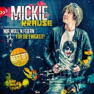 Mickie Krause -  Best Of - Wir woll'n feiern für die Ewigkeit - CD - NEU OVP