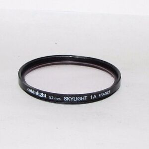 Cokin Cokinlight Skylight 1A 52mm Lens Filter Made in France (scratched)