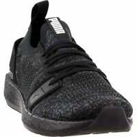 Puma Nrgy Neko Engineer Knit  Casual Running  Shoes - Black - Womens