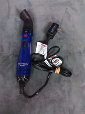 Revlon Blue Hair Blow Dryer Style Iron  Hot Air Heat Brush Salon Ionic