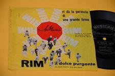 """7"""" 45 FLEX DISC (NO LP ) ARTURO TESTA O SOLE MIO OTTIME CONDIZIONIO"""