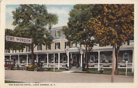 Postcard The Worden Hotel Lake George NY