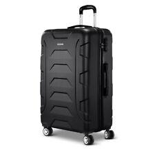 "Wanderlite 28"" Luggage Sets Suitcase Trolley Travel Hard Case Lightweight Black"