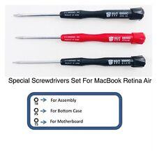 3 pcs Screwdrivers Trox Pentalobe Repair Tool Set for Apple MacBook Retina NEW