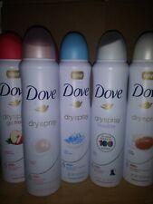 Dove Deodorant Spray 48H Anti-perspirant 150ml  (MIXED PACK OF 6)