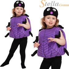 Toddler Spider Itsy Bitsy Child Halloween Fancy Dress Costume