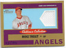 2013 Topps Heritage Clubhouse Collection Relic Gold Mike Trout 83/99