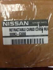 NEW OEM 2015 Nissan Murano Black Retractable Rear Cargo Cover 999N3-C3000