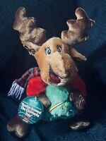 DanDee Animated Plush Reindeer Sings Rockin Around the Christmas Tree