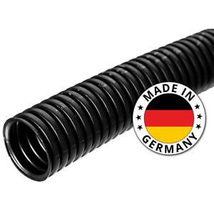 50m Kalitec Wellrohr 16,8mm geschlossen Wellschlauch ungeschlitzt Marderschutz