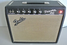 1965 FENDER PRINCETON BLACK FACE GUITAR AMPLIFIER in EXCELLENT CONDITION! #A881